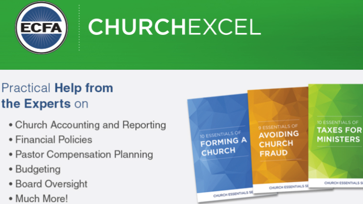 Church Excel: Practical Help from the Experts on church accounting and reporting, financial policies, pastor compensation planning, budgeting, board oversight, and much more